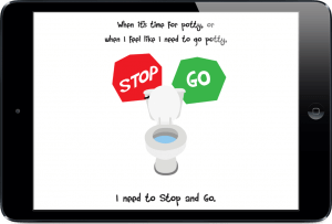 Potty Training Social Story App