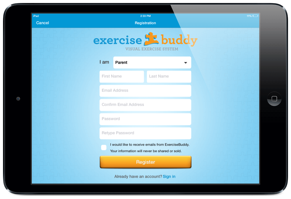Exercise Buddy App